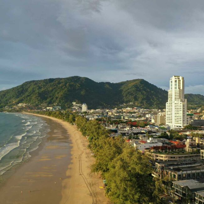 Patong Beach, Adventures of The Pillingers, Phuket, Thailand